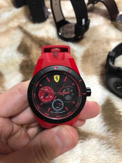 Relógio Ferrari Vermelho