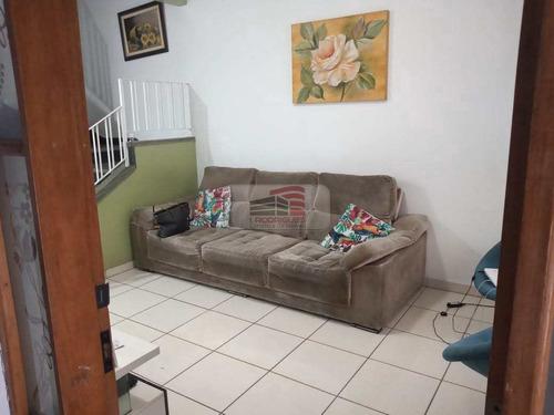 Imagem 1 de 14 de Sobrado Com 3 Dorms, Assunção, São Bernardo Do Campo - R$ 520 Mil, Cod: 2021 - V2021