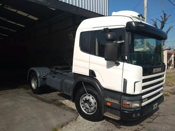 Scania P94 260 Camión Tractor 2001 Engomado Impecable