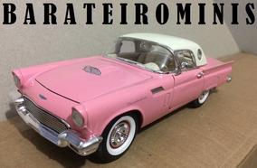 1:24 Ford Thunderbird 1957 Rosa - Sunnyside Barateirominis