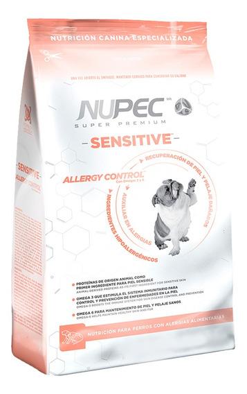 Croquetas Alimento Perro Nupec Sensitive Control Alergia 2kg