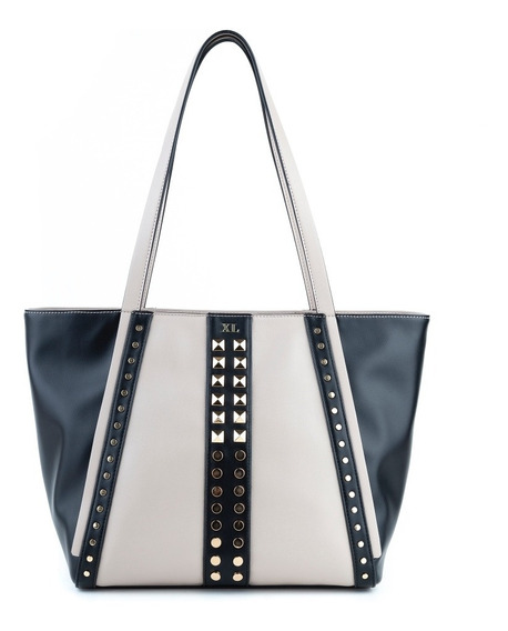 Tote Mujer Xl Extra Large Darla Negro