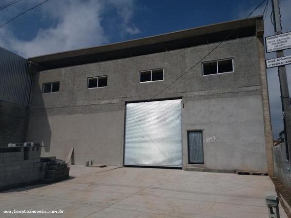 Galpão Para Venda Em Mauá, Loteamento Industrial Coral, 4 Banheiros - Elc01807