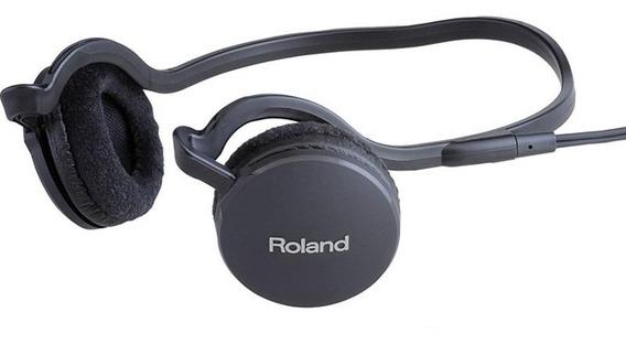 Fone De Ouvido Roland Rh-l20 Para Monitoração
