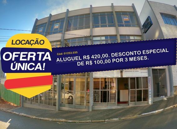 Sala Comercial Para Alugar - 01253.035