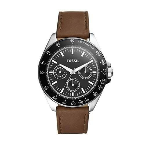 Fosil Bq2294 Reloj De Cuarzo Para Hombre Acero Inoxidable Y