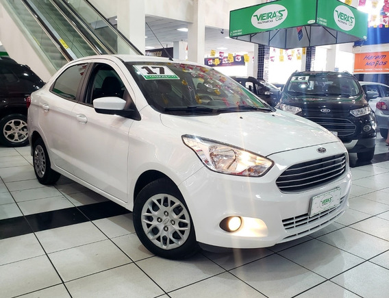 Ford Ka Sedan Se 1.5 Flex 2017 Branco Completo