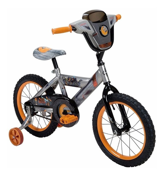 Bicicleta Para Niños Huffy Star Wars Rebels Rodada 16