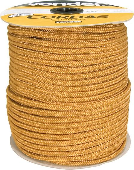 Corda Multifilamento Tranc 8mm 11kg 228 M Ouro Vonder