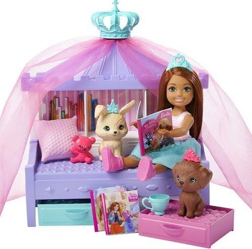 Barbie Dreamhouse Adventures Chelsea Pijamada Perritos Gml74