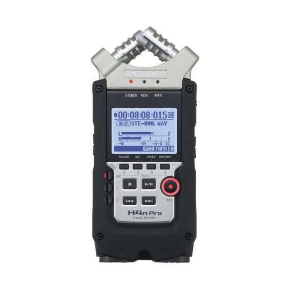 Gravador De Áudio Digital Zoom H4n Pro
