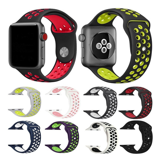 Correa Sport Watch Iwatch Serie 1 2 3 4 38mm 40mm 42mm 44mm