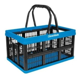 Canasta Caja Clevermade Colapsable 10kg/16lts Capacidad