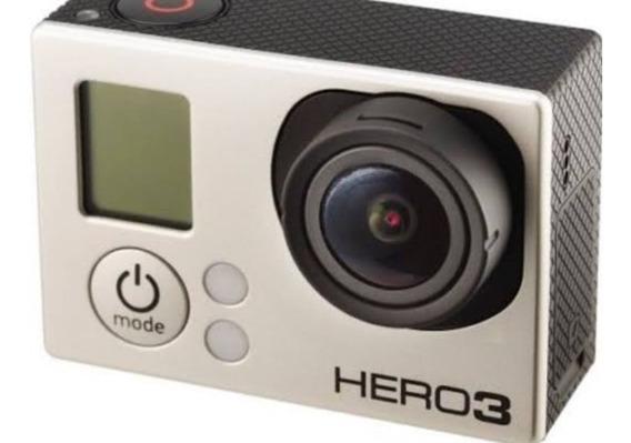 Câmera Gopro Hero3 + Com Maleta E Kit Completo