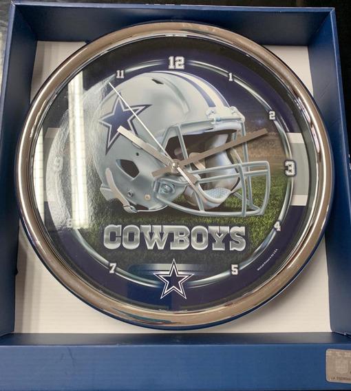 Reloj De Pared Cowboys Dallas Nfl