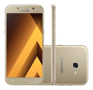 Samsung Galaxy A5 A520f 64gb 3gb Câm 16mp Dourado Vitrine 1