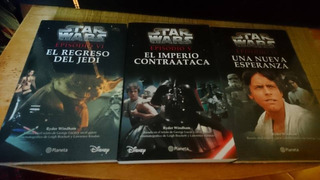 Star Wars Libros Trilogía Original