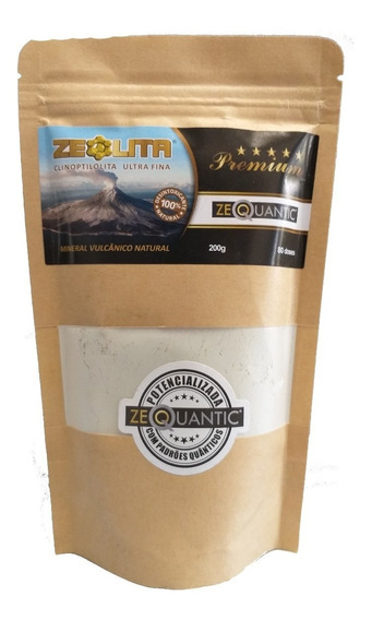Zeólita Premium 200g Potencializada