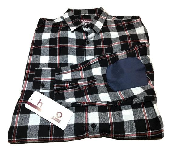 Camisa De Franela Para Caballero Tallas Extras 100% Algodón