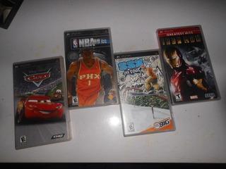 Juegos Para Psp, Cars, Nba, Ssx, Iron Man, Endo O Cambio!!!