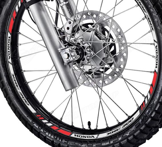 Friso Adesivo Refletivo M10 Roda Moto Honda Xre 300