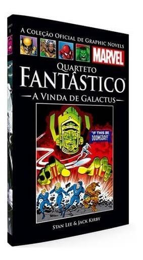 Graphic Novels Quarteto Fantástico - A Vinda De Galactus
