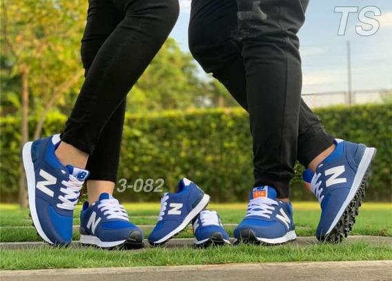 Lindos Zapatos New Balance. Familia Papa-mama-hijo.