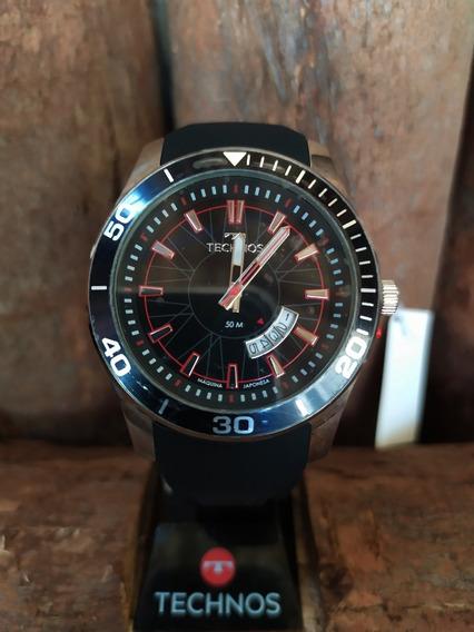 Relógio Technos Masculino Racer Mod 2115ksn/8p - Original