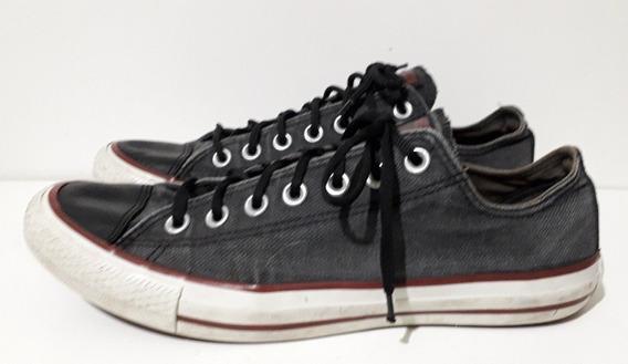 Zapatillas Converse T.41 Gris Oscuro Unisex Usadas Oferta
