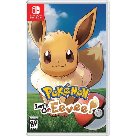 Pokemon Lets Go Eevee Switch Mídia Física