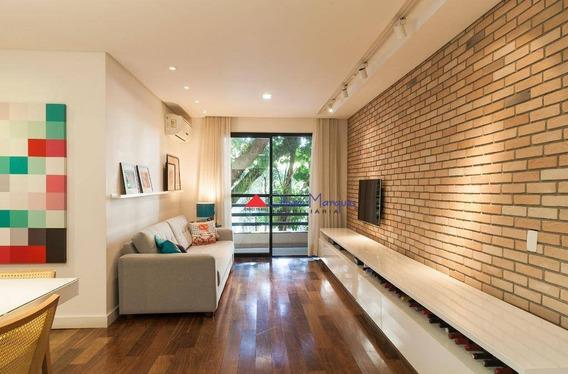 Apartamento Com 3 Dormitórios À Venda, 92 M² Por R$ 715.000,00 - Vila São Francisco - São Paulo/sp - Ap7067