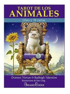 Tarot De Los Animales ( Libro + Cartas )