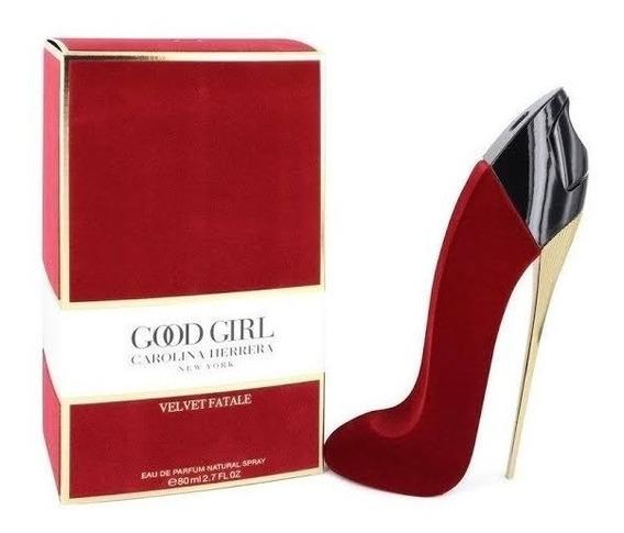 Good Girl Velvet Fatale Carolina Herrera - Perfume 80ml