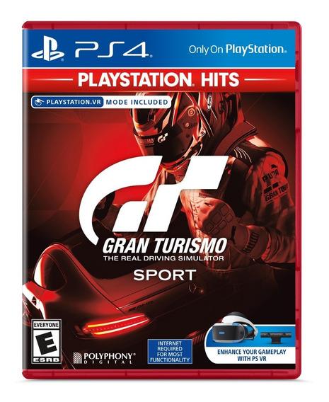 Gran Turismo Sport Ps4 Novo Lacrado Mídia Física + Brinde