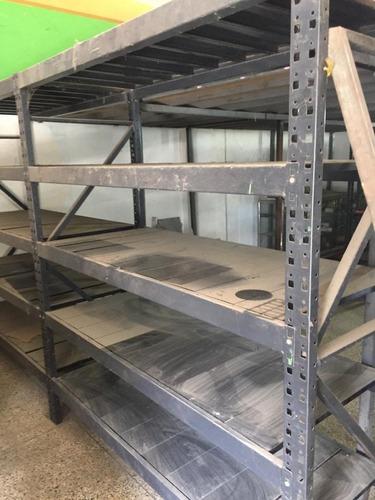 Estante Metalico Industrial Almacenamiento Pesado (rack)