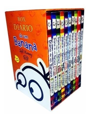 Box Diario De Um Banana - 10 Vols+ Poster - Promoção