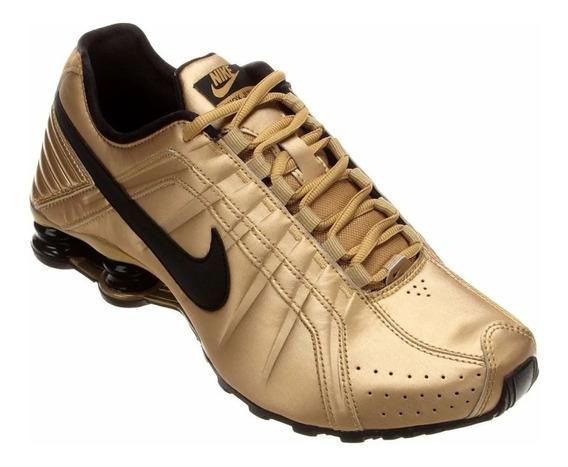 Tênis Nike Original Dourado O Par
