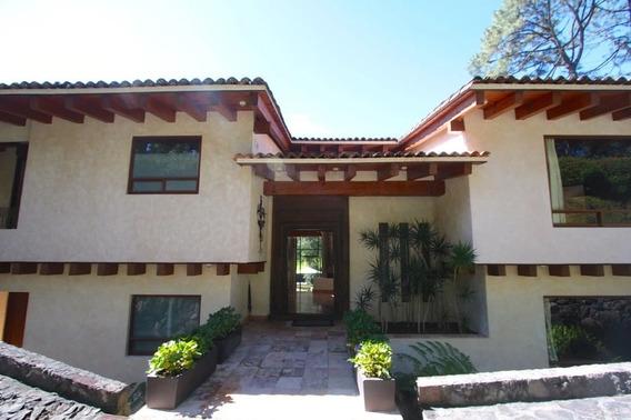 Excelente Casa En Venta En Valle De Bravo, Avándaro
