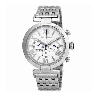 Chavo Laroche Crema Dial Para Hombre Reloj Multifunción G20