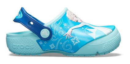 Crocs Originales Crocband Fun Lab Clog Frozen Celeste Niños