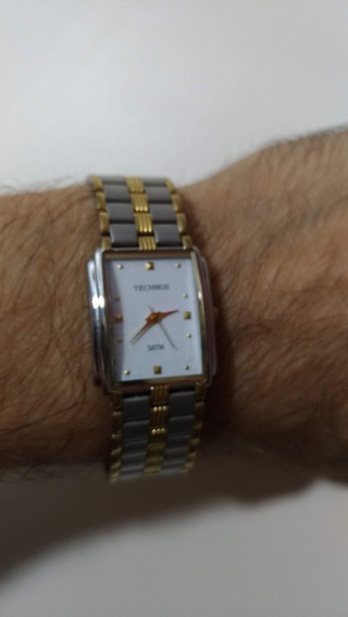 Relógio Technos Retangular Seminovo - Muito Elegante