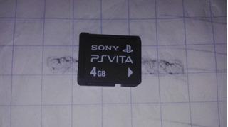 Memory Card De 4gb Para Ps Vita,funcionando Perfectamente