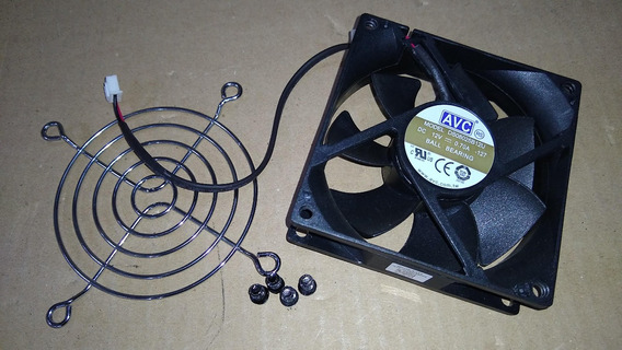 Cooler P/ Nobreak Liebert Ds08025b12u 12vdc 80x80x25mm
