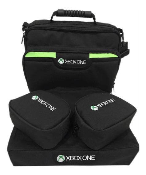 Bolsa Kit Pasta Xbox One Slim 4 Peças