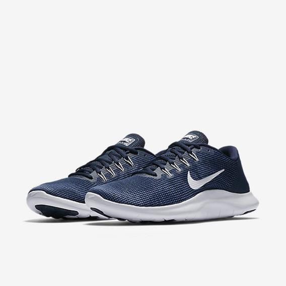 Tênis Nike Flex 2018 Rn Azul Original - Footlet
