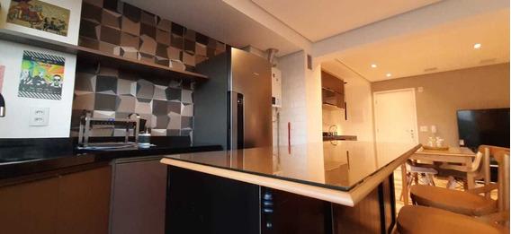 Apartamento Lindo Mobiliado No Panamby