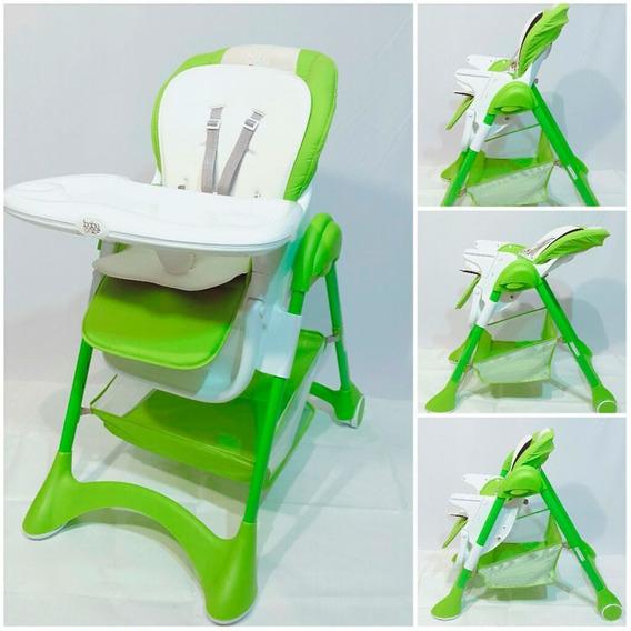 Baby One Silla De Comer Bosi-016 Green