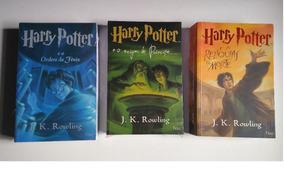 Coleção Harry Potter Com 3 Livros