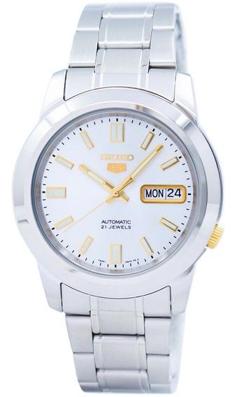 Relógio Seiko Automático Masculino Snkk09k1