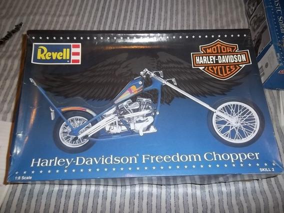 Moto Harley Davidson Chooper Para Armar Modelo A Escala 1:8